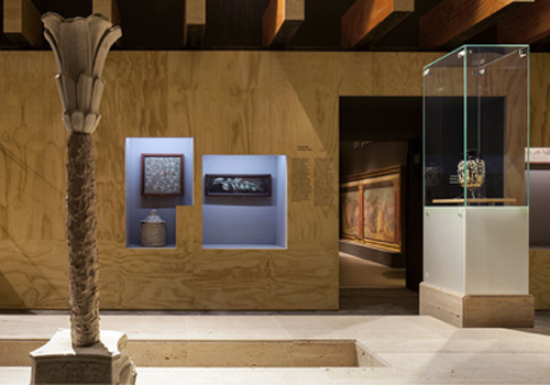 'Mito e Natura- Dalla Grecia a Pompei' on view  at the Palazzo Reale in Milan for Expo 2015